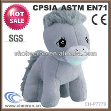 2014 New year client gift plush stuffed toy horse