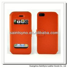13033A Book style leather mobile phone vogue case.