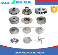 High quality precision turbo compressor impeller, qualified machining pump compressor impeller