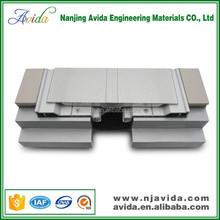 Shopping mall concrete expansion joints in building systems