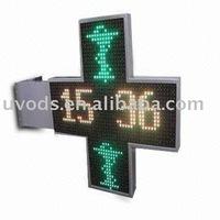 Outdoor Waterproof LED Pharmacy Cross Display Sign