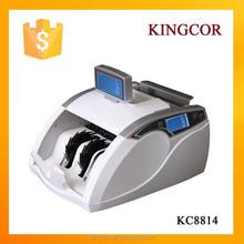 แบบพกพาเคาน์เตอร์ธนบัตรสกุลเงินเครื่องตรวจจับบิลเคาน์เตอร์machinbanknotforindiaรูปี, usd, ยูโร, แพน, มาเลเซียสกุลเงิน