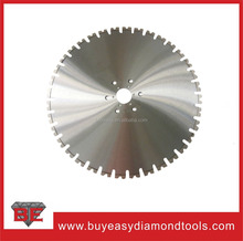 600mm Wall Saw Blade for Heavy Reinforced Concrete Cutting