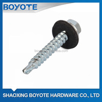 Hex Head Self Drilling Screws with Metal Bonded EPDM washer DIN7504K