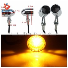 Metal Amber Motorcycle Turn Signal Lights Motorcycle Turn Signals Turn Signal Light For Choppers All Motorcycle