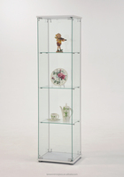 Office storage glass display shoe bathroom kitchen cabinet accessories