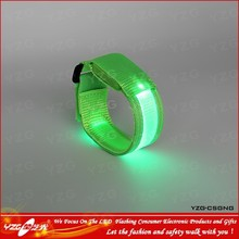 LED flashing wristband power balance