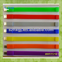 G-Silicone bracelet usb flash drive 4gb,promotion 4gb usb bracelet