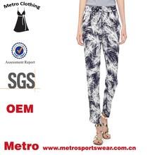 chinese clothing store pants women print pants