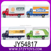 Custom design miniature diecast models toy truck