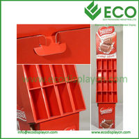 Valentine's Day Promotion Paper Advertising Display, POP Carton Display for Chocolate