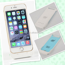 Mfi Certified Plastic External Battery Case for iPhone 6 Back Battery Housing Cover