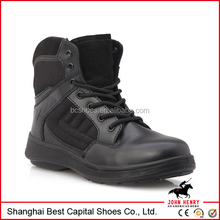 military hiking tactical shoes/military boots police shoes/Delta climbing tactical low help Side zipper boots
