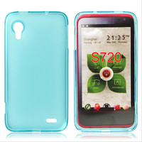 new product soft tpu back cover case for lenovo s720