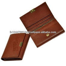 ADACCC - 0157 Leather credit card holder / business card holder card case / wholesale business card holders