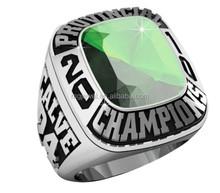 Stainless steel Youth award ring for Baseball Tournament