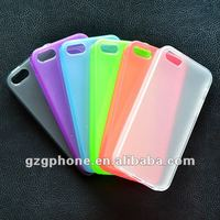 TPU solf case.Tpu solf cover colorful beautiful case for iphone 5 case