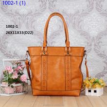 Nine Western pure color office's Handle Bag tote bag shoulder bag handbag