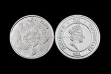 1 Gram 2012 Fiji Taku Hawksbill Silver Coin