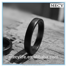 MECY LIFE factory wholesale directly high-grade simple fashion new arrival on Alibaba 8mm width&2mm thickness Ebony wood ring