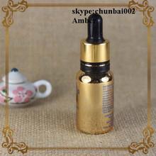 FDA 30ml essential bottle oil metal cap glass dropper bottle