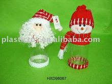 """New Christmas gift 9.5"""" candy bottle HXD98067"""