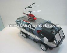 RC Car With Helicopter With Gyro 2 in 1
