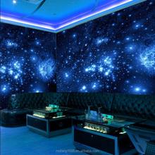meraviglioso mondo delle pareti nude decorazione della parete carta da parati murales stella cielo mondo di notte