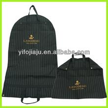 Non woven robe bag/garment bag/suit bag with pockets