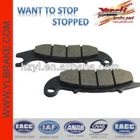 Excellent performance motorcycle brakes wholesale brake pads