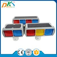 LED Road safety solar powered novelty traffic strobe light,traffic light blinker