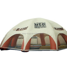 Alibaba china unique good quality cube inflatable tent