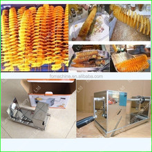 manual high quality stainless steel spiral potato cutter machine