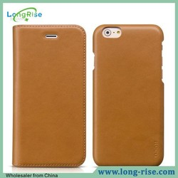 HOCO Luxury Flip Stand Genuine Leather Case for iPhone 6