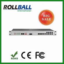 30 channel voice fxo/fxs over fiber PCM multiplexer