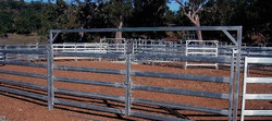 The Cattle Yard Gates joining system