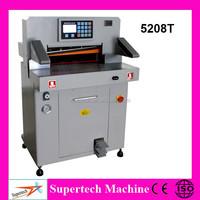 ST-5208T High precision hydraulic paper guillotine, paper cutter/paper cutting machine