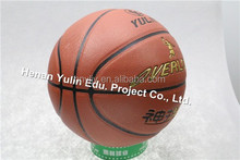 custom leather pu basket ball factory branded basketball OEM service