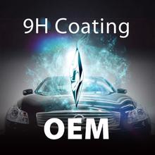 hydrophobic car body OEM products 9H paint car polishing