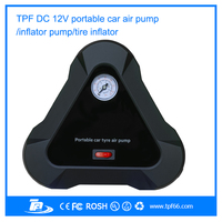2015 TPF portable mini car tyre air compressor pump for cars motorcycle