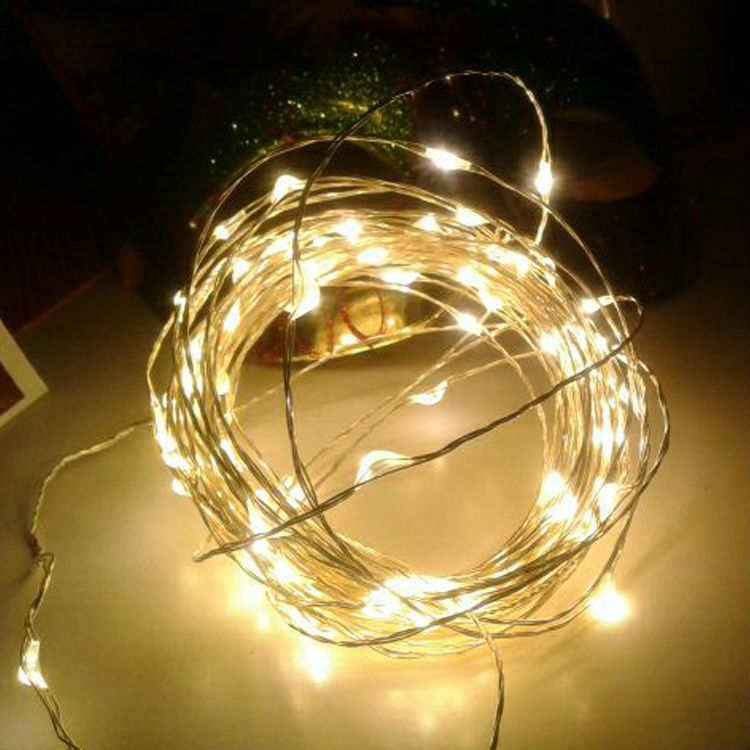 Battery Operated String Lights 10m Copper Wire Fairy String Light - Buy Fairy String Light ...