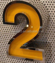 Main Product 3D LED Light Box Letter House Number Sign