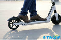 E-TWOW single person electric transport vehicle