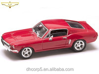 Diecast 1/43 1968 Mustang G/T Red