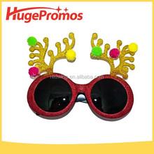 Christmas Carnival Glass Frame Sunglasses for promotion