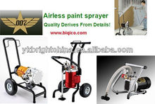 high pressure airless paint sprayer with 22.5Mpa 1.1KW 4L/min HS code 84243000, 8424891000