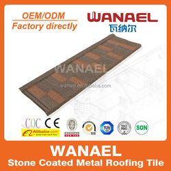 acrylic adhesive tile,constructional material, stone coated steel roofing tile,better than asphalt shingle tile