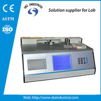 TAPPI T815 inclined plane method coefficient of static friction tester