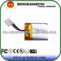 hot sale best price rechargeable 3.7v 110mah lithium polymer battery