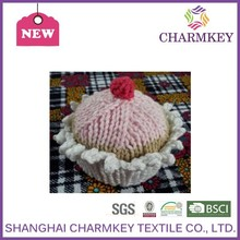 Knitted wholesale 100% wool double knitting wool in china for blanket